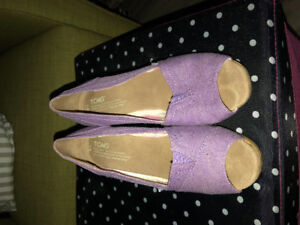 Toms Women's Wedges Size 8