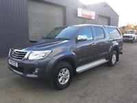 *SOLD* 2013 Toyota Hilux HL3 2.5D-4D Double Cab 4x4 Diesel Pickup * 85k *NO VAT*