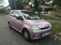2003 DAIHATSU CHARADE 1.0 5 DOOR 1 LADY DOCTOR OWNER FULL HISTORY IMMACULATE CAR BARGAIN