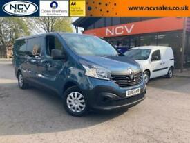 2016 Renault Trafic LL29 BUSINESS ENERGY DCI NO VAT VAN Minibus Diesel Manual