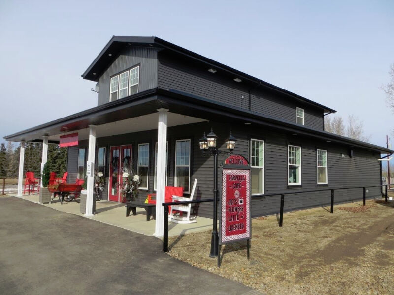carvella cafe central alberta restaurant for sale with