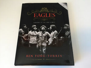 Eagles 40th Anniversary Taking It To The Limit Book.