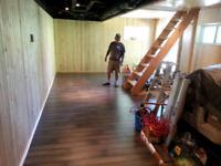 Installation de planchers