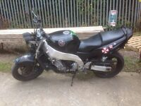 Yamaha YZF1000 Thunderace R1 Streetfighter Rat Project