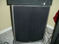 QUEST HOME THEATER SUBWOOFER