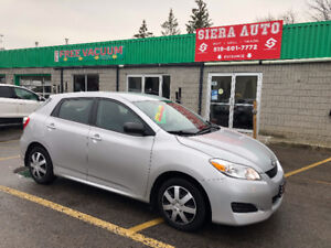2012 Toyota Matrix BASE**MANUAL**ONE OWNER** NO ACCIDENTS**