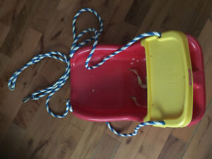 Outdoor Fisher price swing