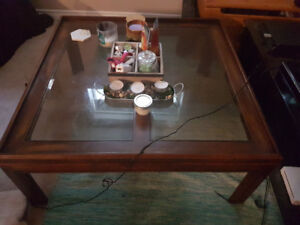 Coffee table and end