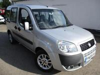 2009 FIAT DOBLO 8V DYNAMIC H/R WHEELCHAIR ACCESS WAV VEHICLE MPV (MULTI-PURPOSE