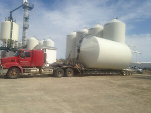 Farm equiment hauling and towing,grain bin moving Regina Regina Area image 4