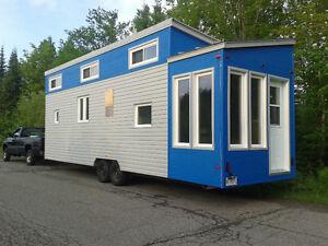 Mini maison sur roue à vendre