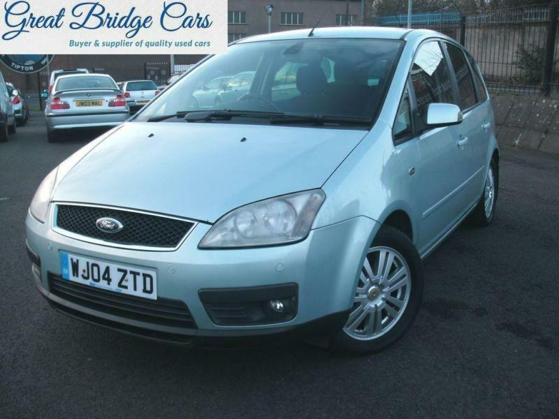 2004 ford focus c max 2 0 tdci ghia in sandwell west. Black Bedroom Furniture Sets. Home Design Ideas