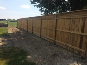 Fence and deck installation Windsor Region Ontario image 8