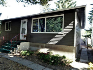 Updated 3 bedroom bungalow in a nice location!