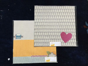Two fancy scrapbooking pages