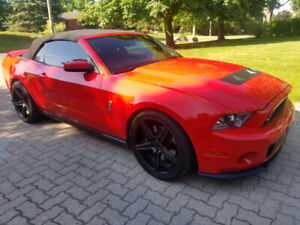 Mustang Shelby GT 500 Convertible