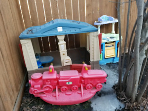 Play House, Kitchen, SeeSaw Take all for $80