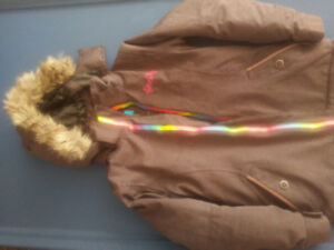 Manteau+pantalon hiver fille -Snow jacket+pants girl 9/10ans