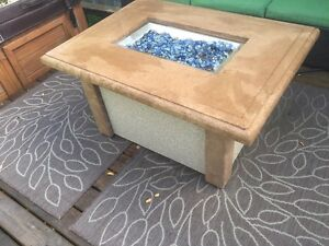 Outdoor Marble Fire Table