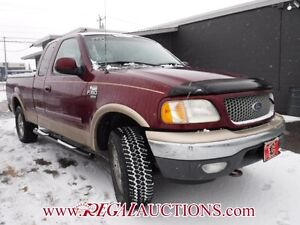 1999 FORD F150  SUPERCAB 4WD