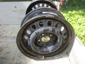 """Ford Edge Steel Rims 17"""" with TPMS Sensors"""