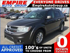 2015 DODGE JOURNEY SXT * POWER GROUP * PREMIUM CLOTH SEATING * 7