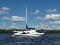 25' Tanzer sailboat for sale and for sail