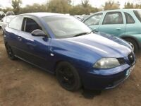 2003 SEAT IBIZA SPORT 8V NOW BREAKING FOR PARTS