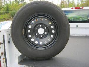 245/70/17 General Grabber m/s tire & rim