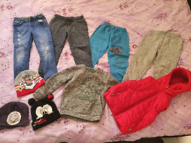 Bundle of clothing for boys, recommended for 4-5 years old