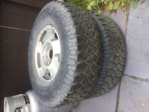 2 265/75r16 good year tires