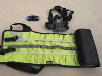 Gopro bag + chesty + strap mount