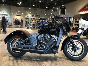2018 Indian Motorcycle Scout Thunder Black