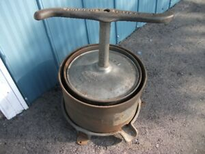 Vintage 3 Gallon Fruit Press