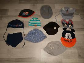 Baby Boy Caps 1-3 years.