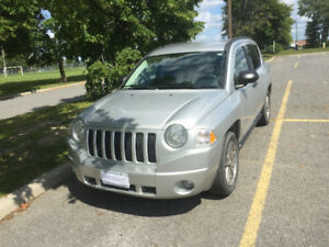 2007 Jeep Compass Sport SUV, Crossover/Certified/E-test NO TAX