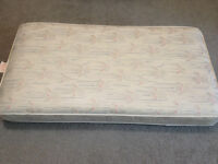 high end crib mattress. waterproof. in great shape