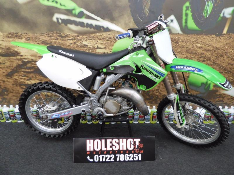 Kawasaki Kx 125 Motocross Bike Just Had Rebuild By Our Us Lots Pro Circuit