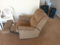 Very Clean & Comfortable Brown Rocker Recliner/Chair