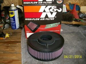 K&N filter and clutch cable