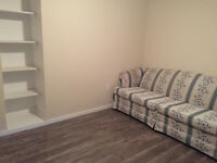 One furniture bedroom at Brentwood c-train & UC close downtown