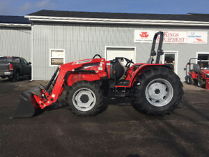 YEAR END CLEARANCE - McCormick 61 PTO Hp Tractor