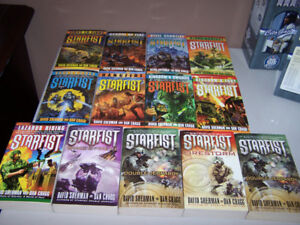 12 STARFIST series books by David Sherman