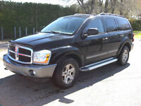 2005 Dodge Durango slt 4x4,7 pass