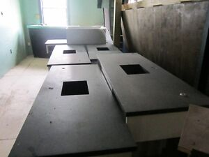 4 Lab benches