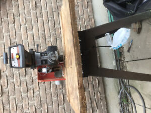 Craftsman 2.5 HP radial arm saw with stand, need little TLC lube
