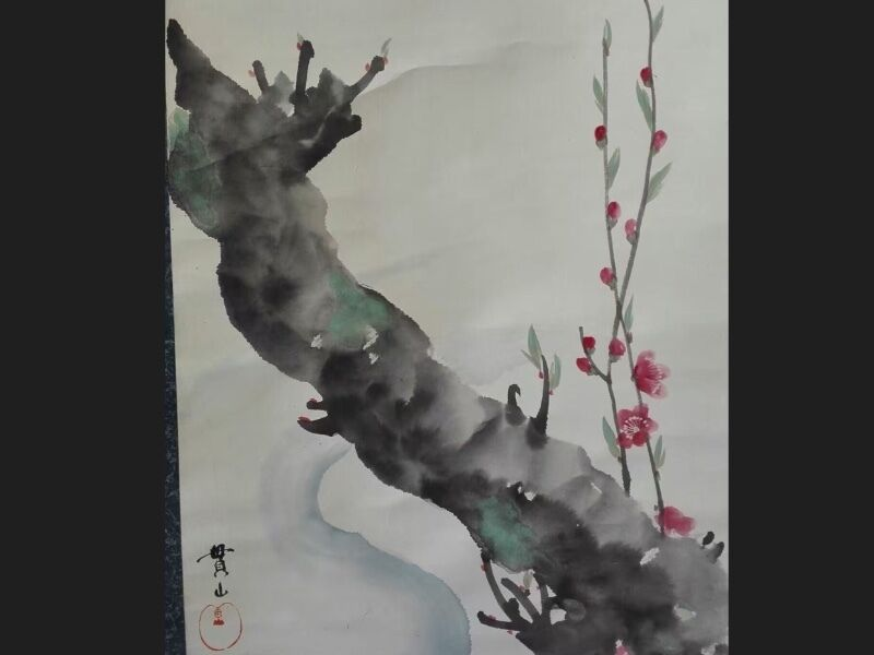 Enchanting Precious Antique Calligraphy Paintings