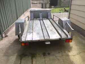 Motorbike trailer with toolbox Spotswood Hobsons Bay Area Preview