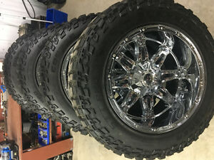 "20"" rims and tires for sale"