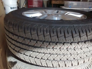 2012 Nissan Altima Alloy rims, with Tires for sale Cambridge Kitchener Area image 2